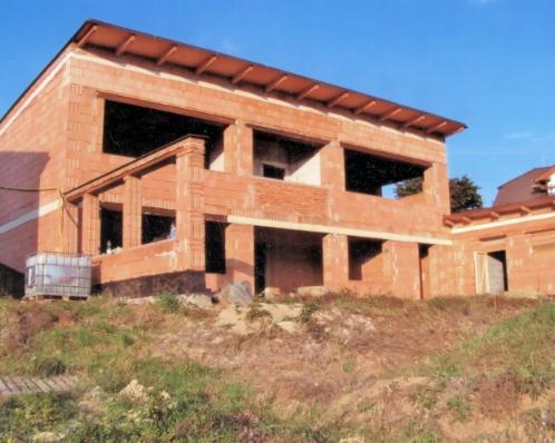 Hrubá stavba domu, Drnovice